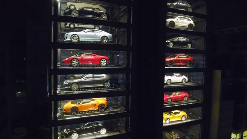 Alibaba automat z samochodami