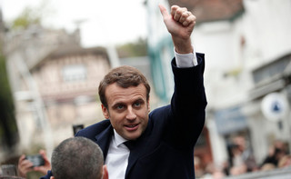 Francja: Macron - najmłodszy prezydent w historii kraju
