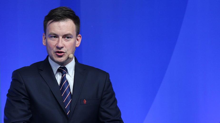 Łukasz Wachowski - dyrektor Departamentu Rozgrywek Krajowych PZPN