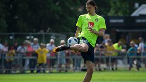 Zlatan Ibrahimovic i jego popisy na treningu