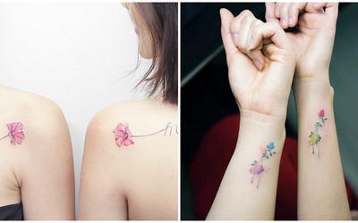 Tatuaże Dla Przyjaciółek Wzory Które Was Zachwycą