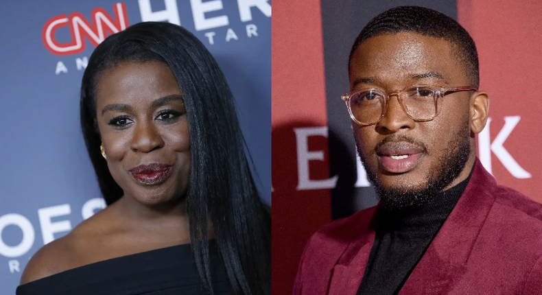 Uzo Aduba and Zackary Momoh join the upcoming 'Americanah' series (Photo by John Lamparski/WireImage and Gregg DeGuire/FilmMagic via Getty)