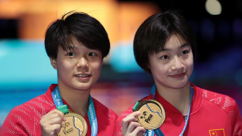 Chang Yani oraz Shi Tingmao