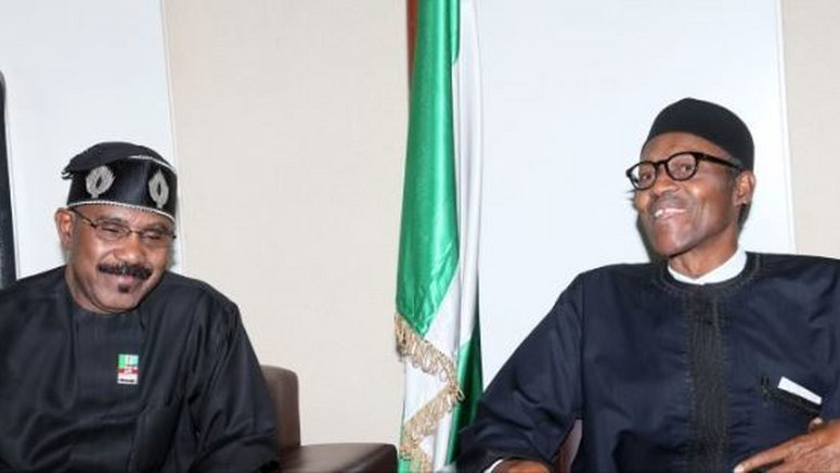 Abaribe praises Mamora for rejecting Buhari's appointment in 2018 ...