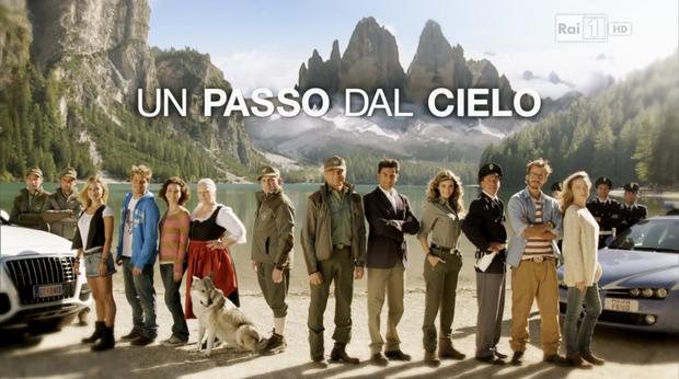 """Kadr z serialu """"Un passo dal cielo"""""""