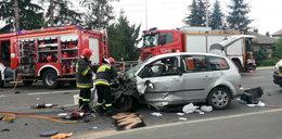 Tragiczne zderzenie w Rzeszowie. Zginął 28-letni kierowca