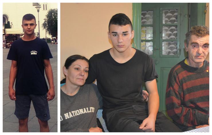 Gojko Grozdanić i njegova porodica