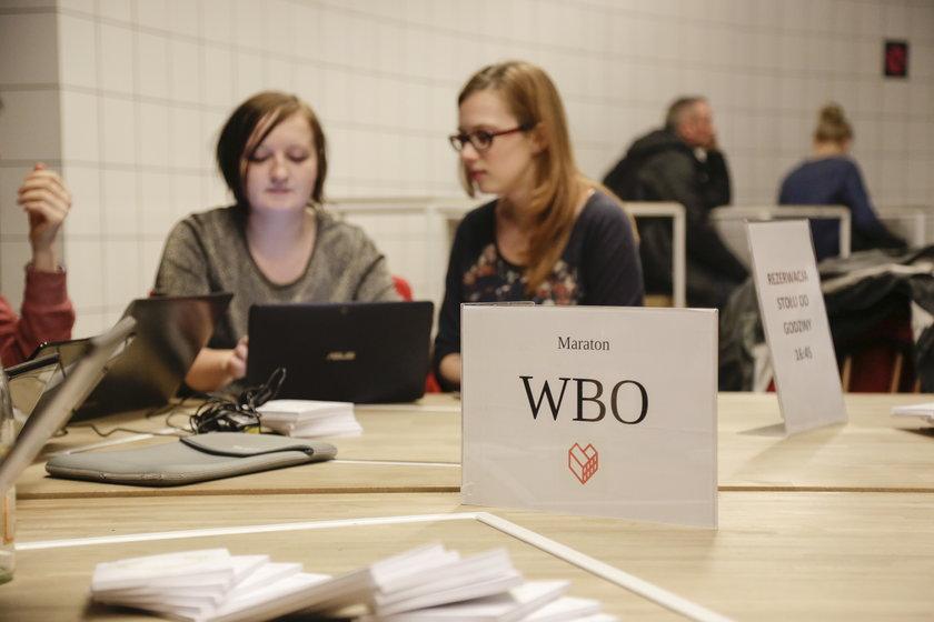 Maraton pisania wniosków do WBO