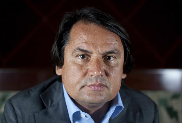 """Rosyjski """"król wódki"""", miliarder Roustam Tariko, właściciel Russian Standard"""