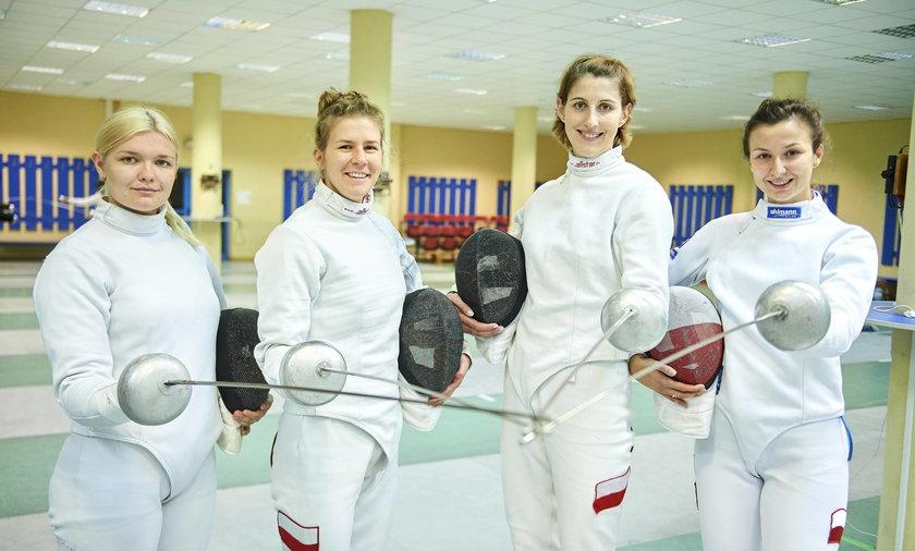Drużyna polskich szablistek ma szansę na medal na Igrzyskach Olimpijskich Tokio 2020