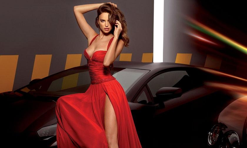 Irina Shayk w sukniach ślubnych