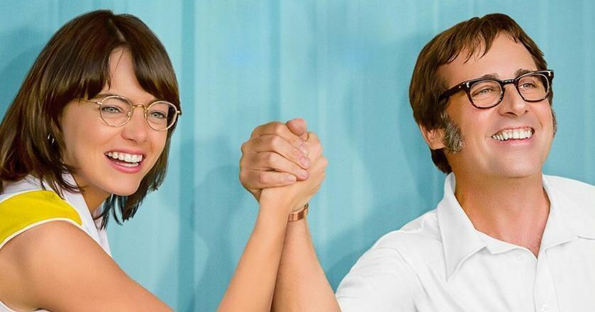 """Jedną z najciekawszych premier tej zimy jest film """"Wojna płci"""" z Emmą Stone i Stevem Carellem"""