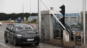 Autonomiczny samochód po raz pierwszy samodzielnie przejechał przez autostradowy punkt poboru opłat