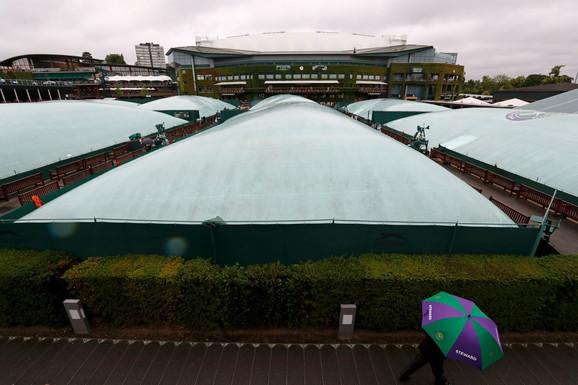 Teniski tereni na Vimldonu