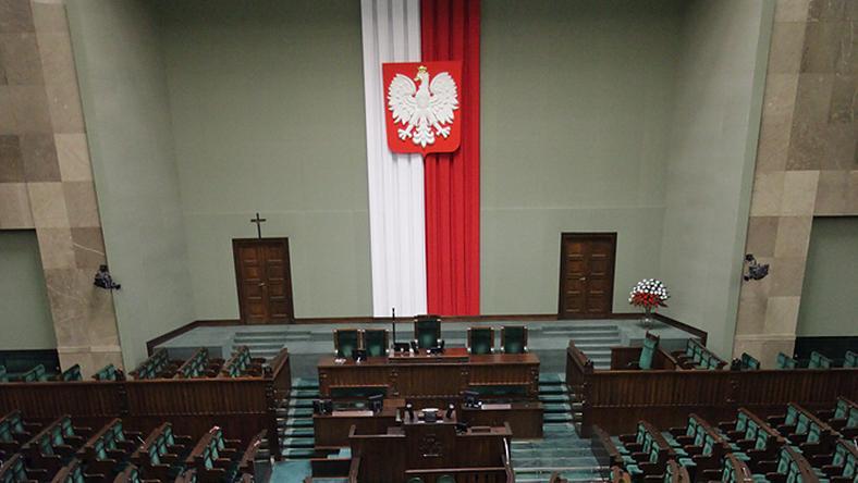 Sejm, fot. Maciej Stankiewicz/ Onet.pl