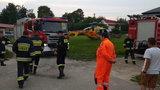Tragiczny wypadek koło Sanoka. 59-latek zginął przez kosiarkę