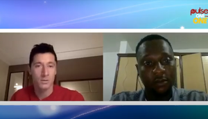 Robert Lewandowski spoke to Pulse Sports' Steve Dede about his favourite music and other stuff
