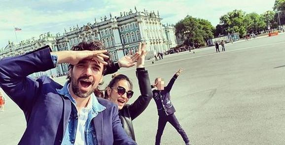 Jelena i Ivan sa ćerkom Ninom