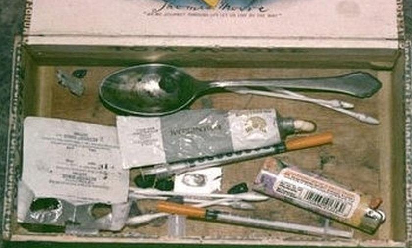 Zdjęcia z miejsca śmierci Kurta Cobaina