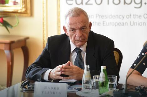 Radko Vlajkov, ambasador Bugarske u Srbiji
