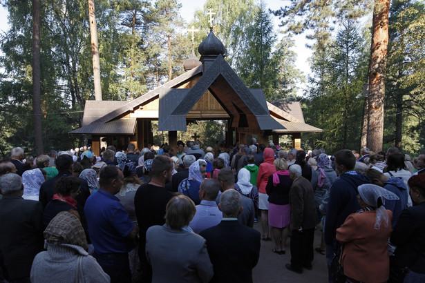 Prawosławne sanktuarium na św. Górze Grabarce koło Siemiatycz (Podlaskie)