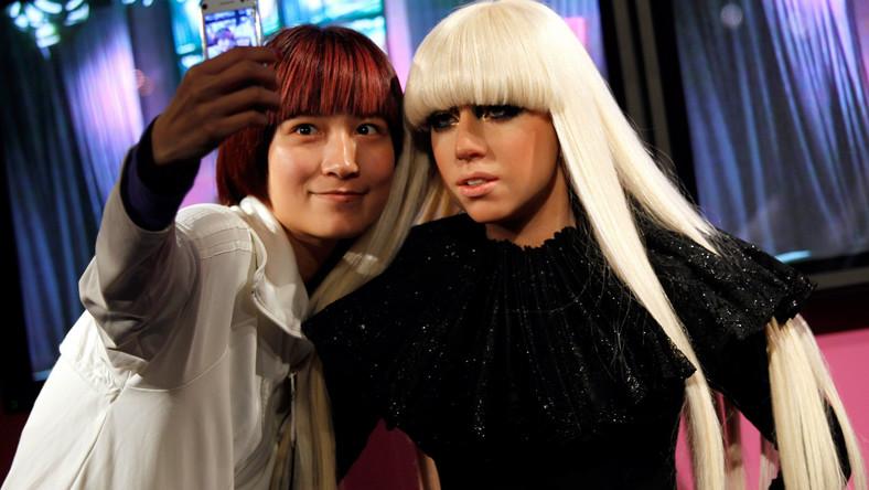 Woskowa Lady Gaga w Hong Kongu