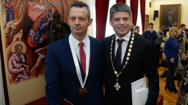 Patrijarh Irinej, Arno Gujon, Marinos Ricidus, Odlikovanje