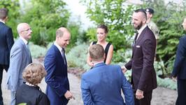 Alicja Bachleda-Curuś spotkała się z księciem Williamem i księżną Kate