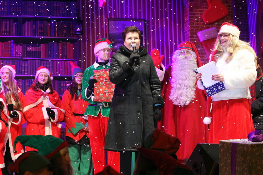 Świąteczna iluminacja w Warszawie