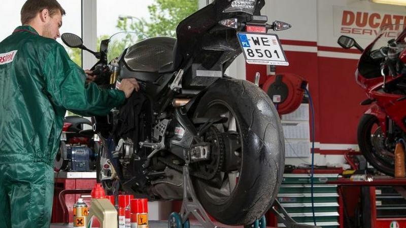 Czyszczenie motocykla