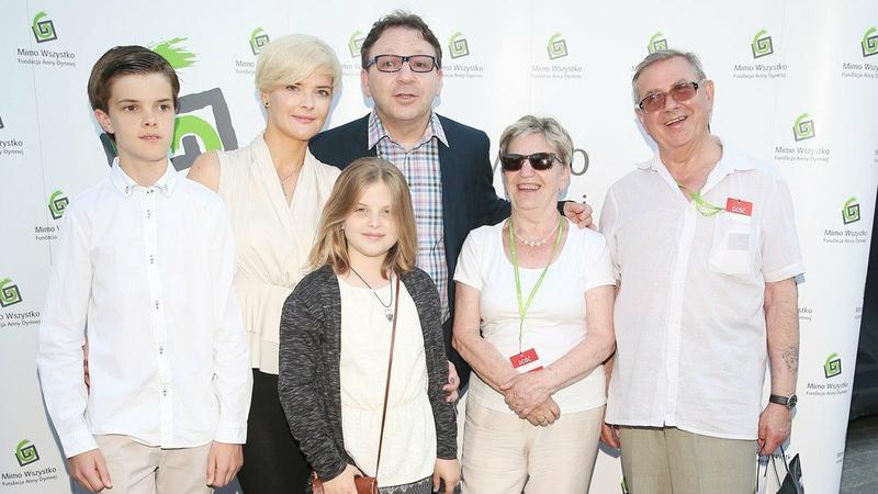 Rodzina Moniki i Zbigniewa Zamachowskich
