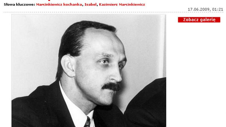Zobacz Marcinkiewicza w młodości