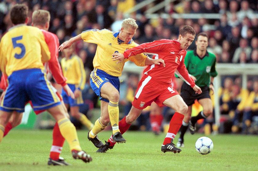 Już dwa razy w przeszłości w rękach Szwecji był los piłkarskiej reprezentacji Polski.