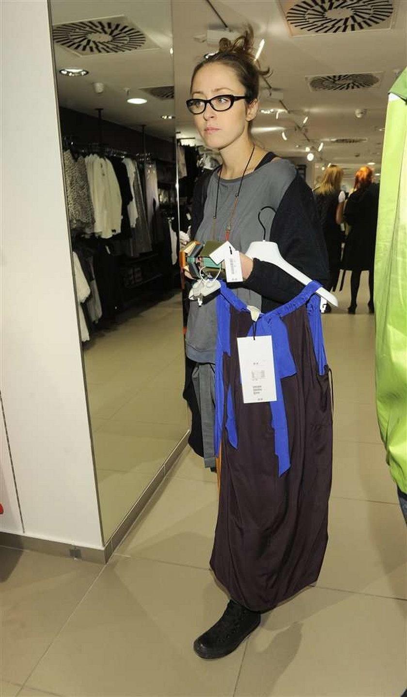 Marni dla H&M Warszawa - celebrytki na zakupach