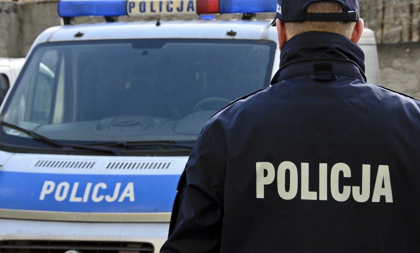 Brutalna interwencja policjantów. Ofiara ma pęknięty ząb FILM