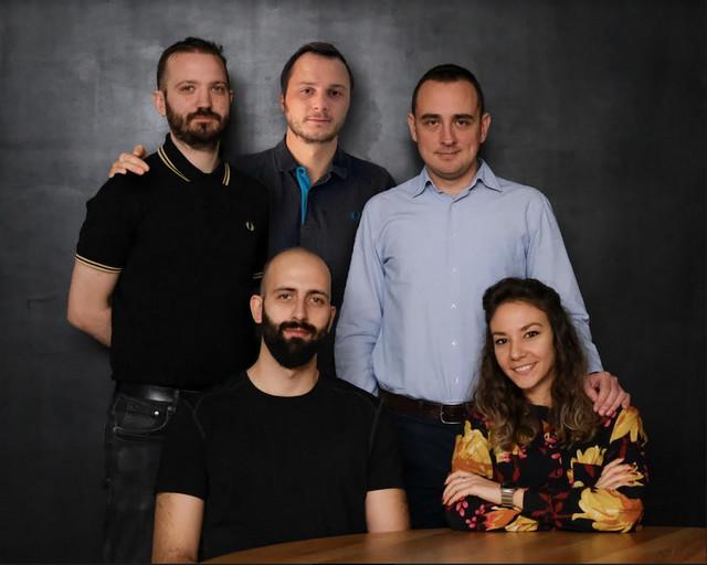 Dragana Ćiprijanović sa svojim timom