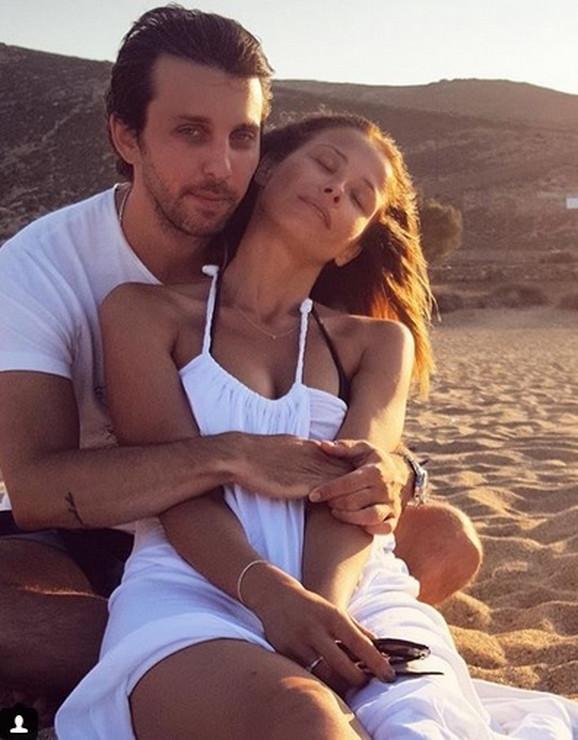Karolina Gočeva sa suprugom