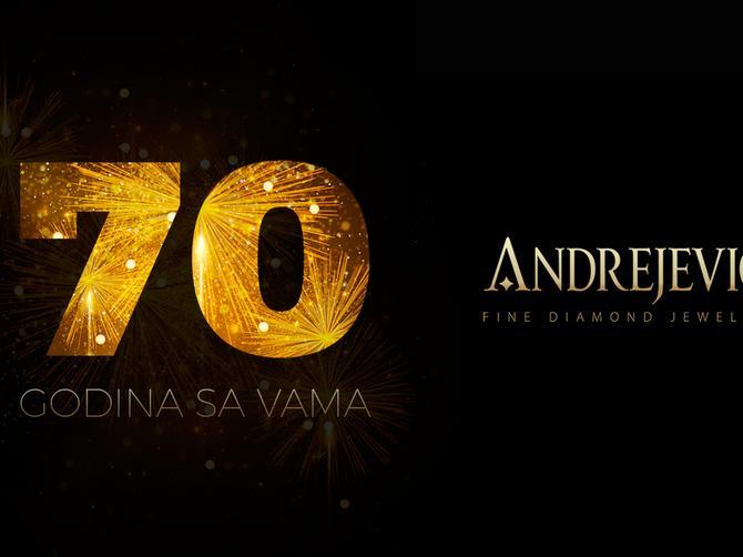 Zlatara Andrejević – proslava 70. rođendana kroz lepe akcije za kupce