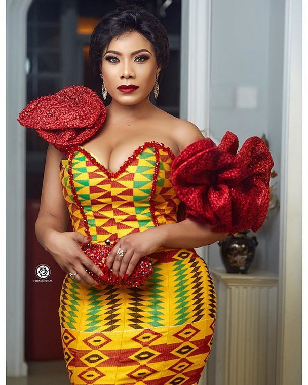 Ghanaian actress and style icon, Zynnell Zuh