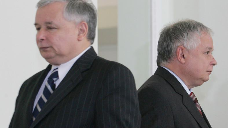 Nikt nie chce być sobowtórem braci Kaczyńskich