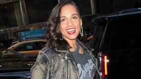 Alicia Keys bez makijażu na ściance. Wiemy, czemu gwiazda zdecydowała się na taki krok