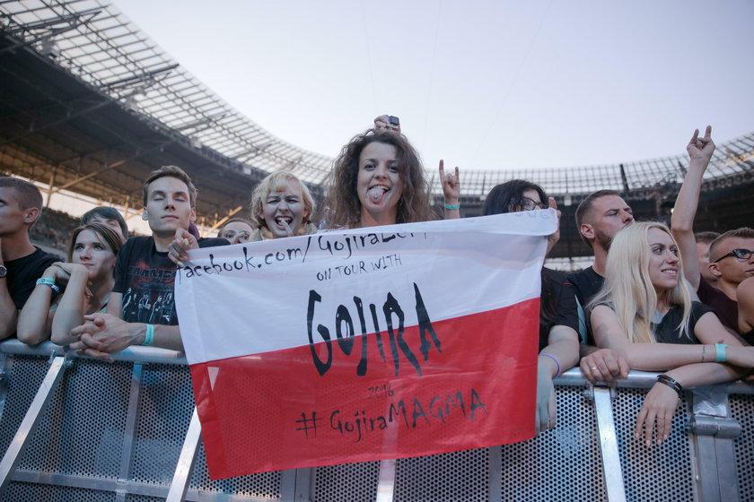 Capital of Rock. Koncert Gorija we Wrocławiu