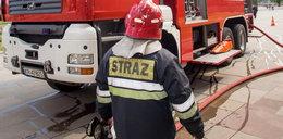 Tragiczny pożar w Warszawie. Strażacy znaleźli zwęglone ciało