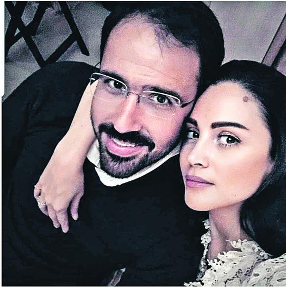 Jelena Bin Drai sa suprugom