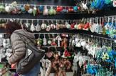novogodisnja dekoracija prodavnice