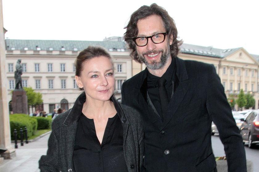 Powstanie Warszawskie premiera filmu Szymon Majewski z żoną