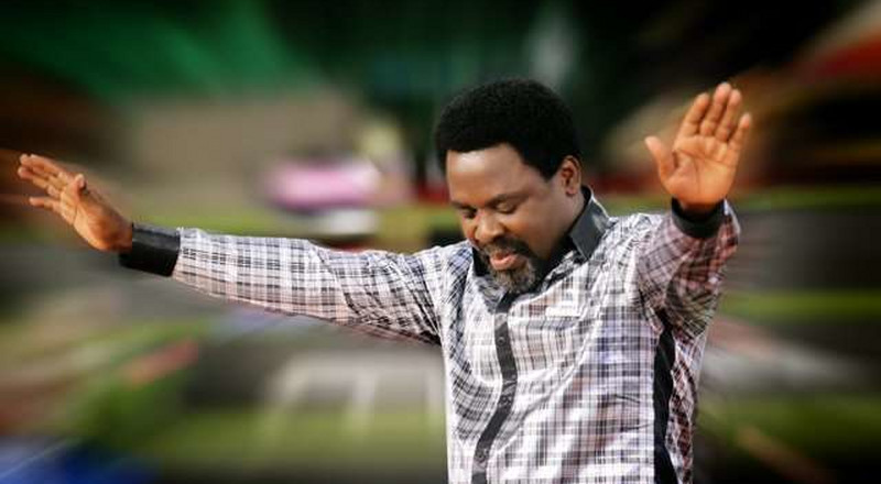 "TB Joshua says ""we're waiting to hear from God"" to open churches"