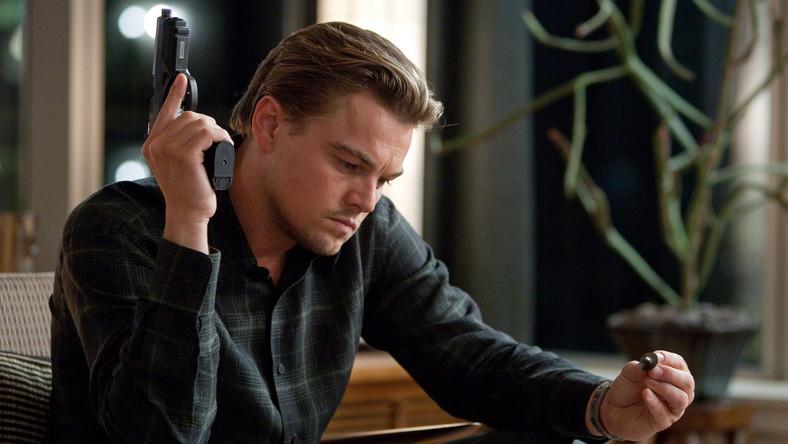 "Leonardo DiCaprio w ""Incepcji"""