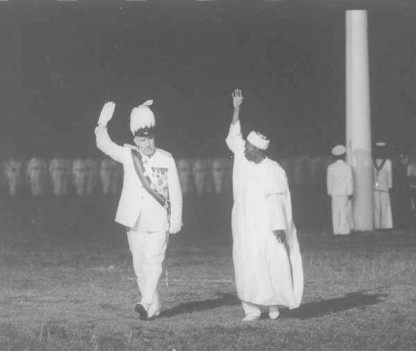 Abubakar Tafawa Balewa and Sir James Wilson Robertson (Google)