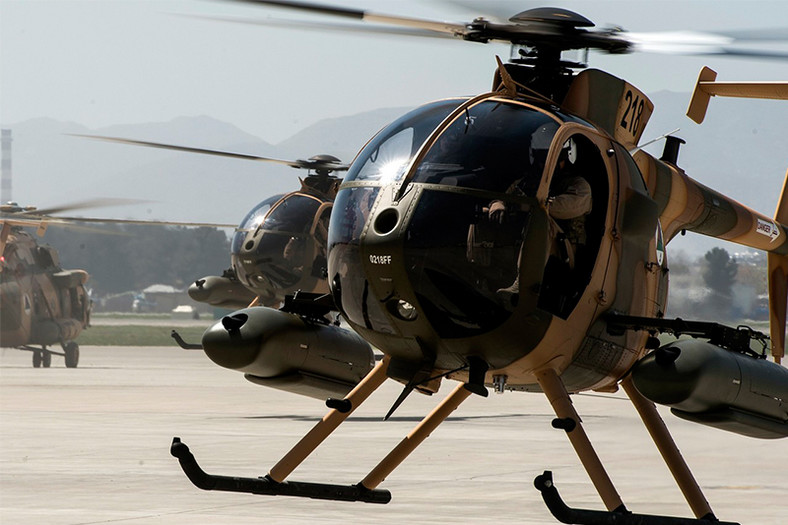 One of Kenya's Defence Forces MD 530F. (armadainternational)